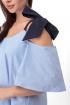 Платье Anelli 867 голубой