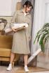 Платье Мода Юрс 2648  светлый-хаки