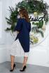 Платье Anastasia 586 синий
