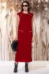 Платье Faufilure С1165 красный