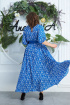Платье,  Пояс Anastasia 573 василек