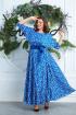 Платье,  Пояс Anastasia 573А василек