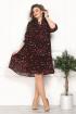 Платье Solomeya Lux 800 черный-красный