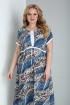 Платье Ксения Стиль 1872 синий