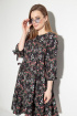 Платье Michel chic 994 черно-розовое