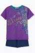 Майка,  Шорты Bell Bimbo 210512 фиолетовый/т.синий