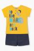 Майка,  Шорты Bell Bimbo 210521 желтый/т.синий