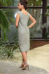 Платье Galean Style 803 хаки