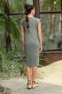 Платье Galean Style 804 хаки