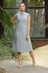 Платье Galean Style 810 голубой