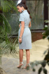 Платье Galean Style 814 голубой