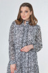 Платье Anastasiya Mak 785.1 черно-белый