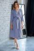 Платье Ivera 1013 серо-голубой