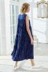 Платье Lokka 771 синий_горох
