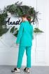 Брюки,  Жакет Anastasia 580 ярко-зеленый1