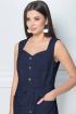 Платье LeNata 11111 темно-синий
