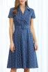 Платье AYZE 1995 сине-белый