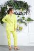 Брюки,  Жакет Anastasia 580 лимон