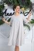 Платье Anastasia 587 молочный