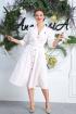 Платье Anastasia 599 молочный