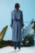 Плащ Rami 1057 грязно_голубой