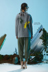Куртка Rami 1060 серо-зеленая
