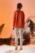 Свитшот Rami 2157 оранжевый
