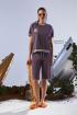 Шорты Rami 4076 фиолетовый