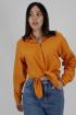 Рубашка VLADOR 500636 горчица