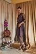 Платье Arisha 1251 кофейный-с-черным