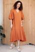 Платье Мода Юрс 2666 терракот