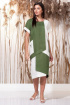 Платье Faufilure С1145 хаки