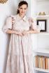 Платье Мода Юрс 2662 бежевый