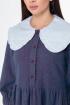 Платье Anelli 973 синий