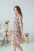 Платье Claire 2405 светло-бежевый