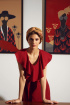 Платье AYZE 1992 терракот