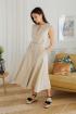 Платье LadisLine 1352 светлый-беж