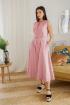 Платье LadisLine 1352 светлый-коралл