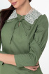 Платье Anelli 1000 зеленый