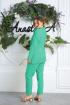 Брюки,  Жакет Anastasia 580 мятно-зеленый