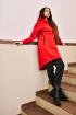 Платье Rawwwr clothing 048-начес красный
