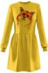 Платье Rawwwr clothing 009.36-начес желтый