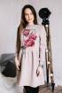 Платье Rawwwr clothing 009.364-начес пудра