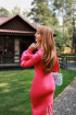 Платье Avenue Fashion 113 розовый