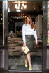 Рубашка Avenue Fashion 309 белый
