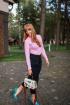 Водолазка Avenue Fashion 314 розовый