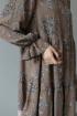 Платье Ivera 1010 коричневый, розовый