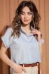 Рубашка S_ette S2031 голубой