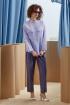 Блуза Rami 2175 фиолетовый