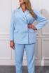 Брюки,  Жакет NORMAL 7-113-light-blue